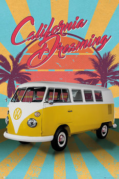 Juliste VW Camper - Cali Retro