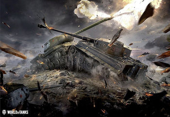 Juliste World of Tanks - Tanks