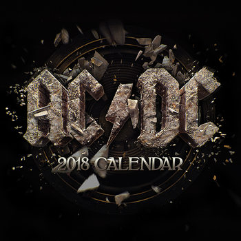 Kalenteri 2018 AC/DC