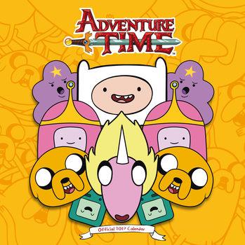 Kalenteri 2017 Adventure Time