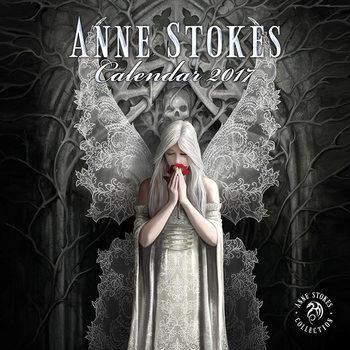 Kalenteri 2017 Anne Stokes