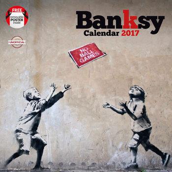 Kalenteri 2017 Banksy