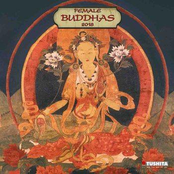 Kalenteri 2018 Female Buddhas