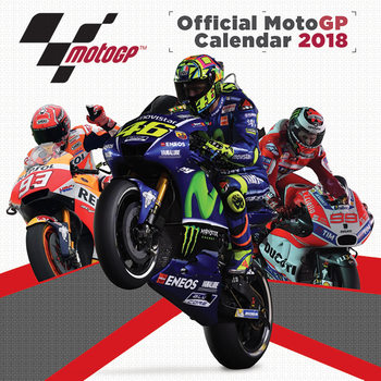 Kalenteri 2018 Moto GP