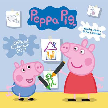 Kalenteri 2017 Peppa Pig