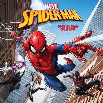 Kalenteri 2018 Spiderman