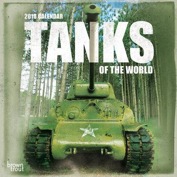 Kalenteri 2018 Tanks of the World