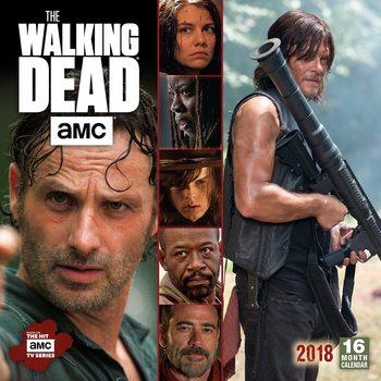 Kalenteri 2018 The Walking Dead