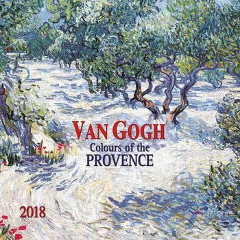 Kalenteri 2018 Vincent van Gogh - Colours of the Provence