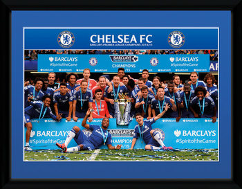 Chelsea - Premier League Winners 14/15 kehystetty lasitettu juliste