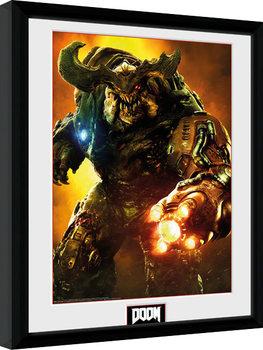 Doom - Cyber Demon Kehystetty juliste