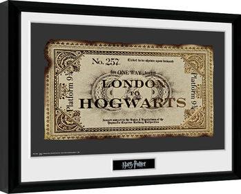 Harry Potter - Ticket Kehystetty juliste