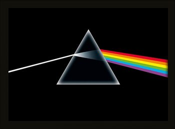 Pink Floyd - Dark Side of the Moon Kehystetty juliste