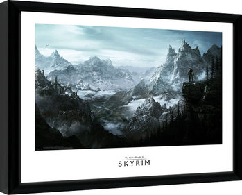 Skyrim - Vista Kehystetty juliste