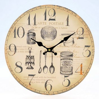 Design Clocks - Bowls and spoons Kello