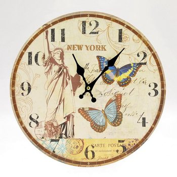 Design Clocks - New York Kello