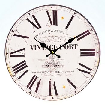 Design Clocks - Vintage Port Kello