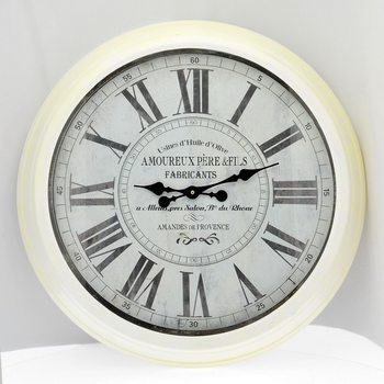 Design Clocks - White Kello