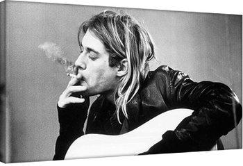 Kurt Cobain - smoking Canvas Print