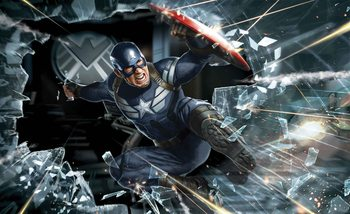 Kuvatapetti, TapettijulisteAvengers Captain America