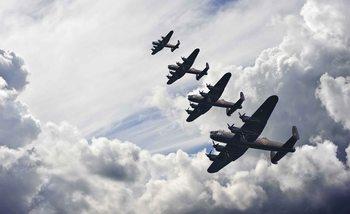 Kuvatapetti, TapettijulisteBomber planes