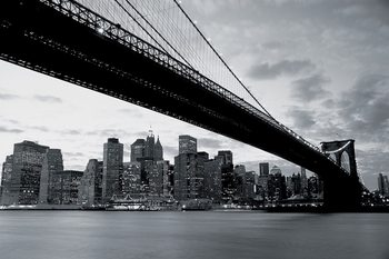 Brooklyn Bridge - New York Kuvatapetti, Tapettijuliste