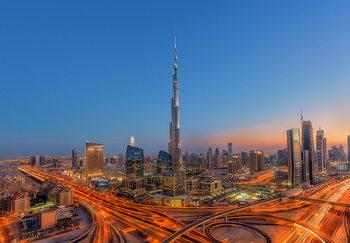 Burj Khalifah Kuvatapetti, Tapettijuliste