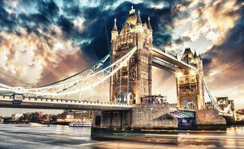 City London Tower Bridge Valokuvatapetti