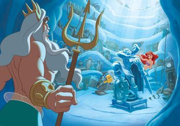 Disney Little Mermaid Valokuvatapetti