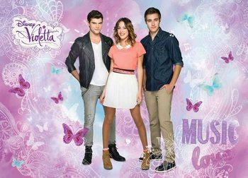 Disney Violetta Valokuvatapetti