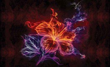 Flowers Floral Art Valokuvatapetti