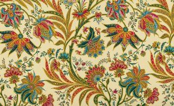 Kuvatapetti, TapettijulisteFlowers Plants Pattern Vintage