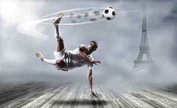 Kuvatapetti, TapettijulisteFootball Player Paris