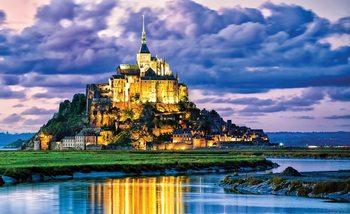 Kuvatapetti, TapettijulisteFrance Mont Saint Michel