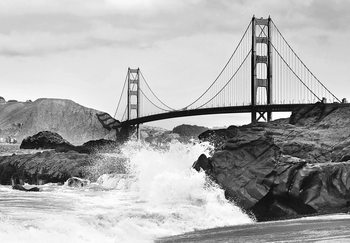 Golden Gate Bridge – Rock Kuvatapetti, Tapettijuliste