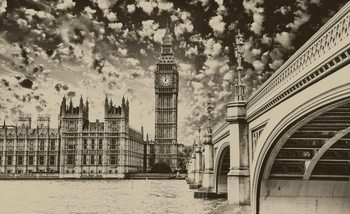 Kuvatapetti, TapettijulisteHouses of Parliament City