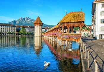 Kuvatapetti, TapettijulisteLucerne – Switzerland