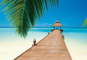 PARADISE BEACH Kuvatapetti, Tapettijuliste