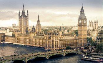 The View Of London Valokuvatapetti