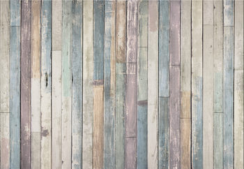 Wooden Wall Kuvatapetti, Tapettijuliste