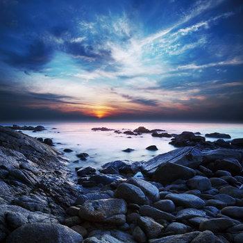 Lasitaulu Sea - Bay at Sunset
