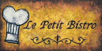 LE PETIT BISTRO Reproduction d'art