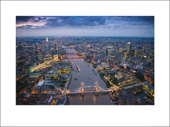 London - Jason Hawkes Reproduction d'art