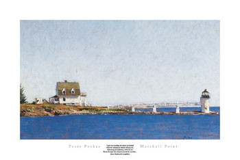 MARSHALL POINT Reproduction d'art