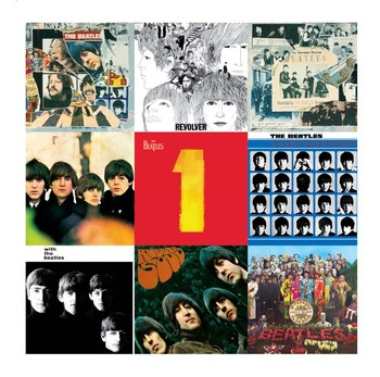 BEATLES COLLAGE 2 Metal Sign