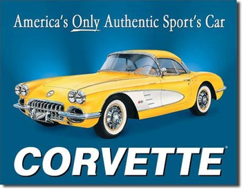 CHEVY 58 - vette Metal Sign
