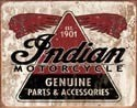 INDIAN GENUINE PARTS Metal Sign