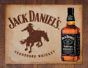 JACK DANIEL'S  BRONCO Metal Sign