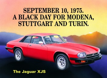 JAGUAR XJS Metal Sign