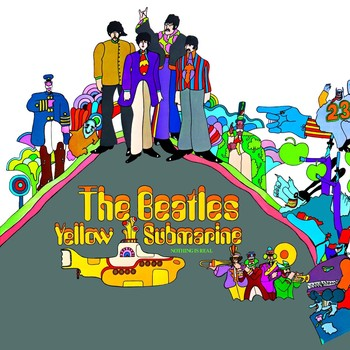 YELLOW SUBMARINE ALBUM COVER Metal Sign